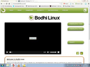 Bodhi Linux Entwicklerseite