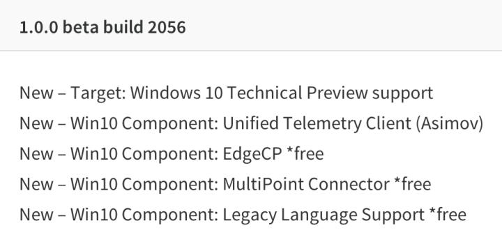 NTLite unterstützt jetzt die Technical Preview von Windows 10