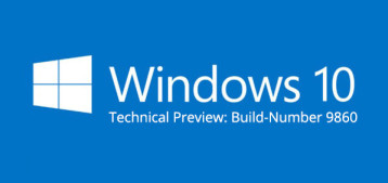 Windows 10: Zweite Version der Technical Preview erschienen