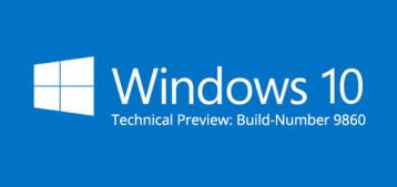 Windows 10: Zweite Version der Technical Preview erschienen